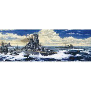 1/500 艦船モデル 日本海軍戦艦 大和 レイテ海戦時 エッチングパーツ付 フジミ [F 1/500 センカンヤマト レイテカイセン Eツキ]【返品種別B】