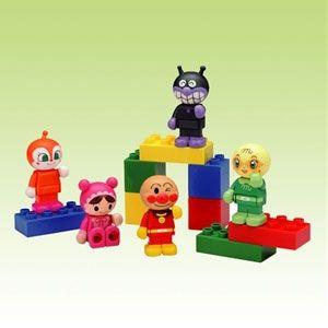 ブロックラボ ブロックといっしょに遊べる!アンパンマンブロックドールセット バンダイ [アンパンマンブロックドールセット]【返品種別B】