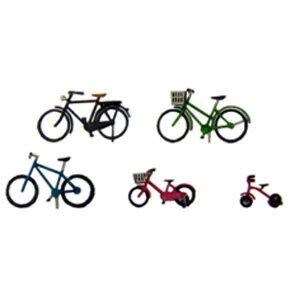 1/150 ジオラマオプションキット 自転車A【MP04-70】 さんけい [SK MP04-70 ジテンシャA]【返品種別B】