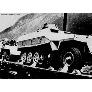 1/35 Sdkfz251 ハノマーグ用履帯【K-19】 モデルカステン [カステン K-19 Sdkfz251ハノマ]【返品種別B】