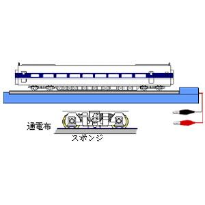 [鉄道模型]津川洋行 (HO) 12504 ホイルクリーナーソフト君 HO [ホイルクリーナー ソフトキミ HO]【返品種別B】