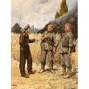 【再生産】1/35 独・歩兵と戦車将校1939-42・無帽歩兵と戦車将校・3体【MB3510】 マスターボックス