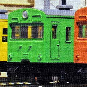 通勤電車103系 KOKUDEN-003 3両セット 10-037 [ウグイス]