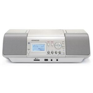 CLX-30-W ケンウッド SD/USB対応CDラジオ(ホワイト) KENWOOD