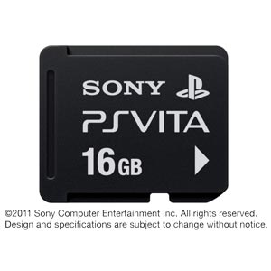 【PS Vita】メモリーカード 16GB ソニー・コンピュータエンタテインメント [PCH-Z161J PSVメモリーカード16GB]