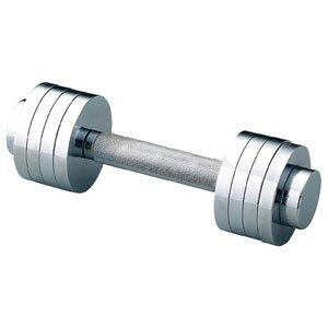 シンテックス ミニクロームダンベル 5kg STW-109