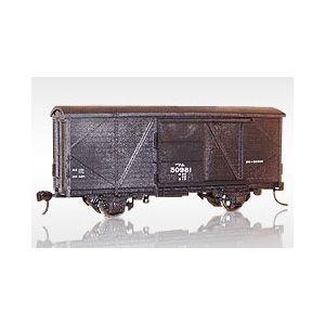 [鉄道模型]エンドウ (HO) #9902 ワム50000(2輌セット) プラスチック製組立キット [ワム50000プラキット(2リョウキッ]【返品種別B】