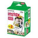 INSTAX MINI WW 2 富士フイルム インスタントカラーフィルム instax mini 2パック品(10枚入×2) チェキ用フィルム [INSTAX...
