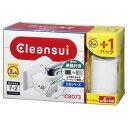 CB073W-WT クリンスイ 蛇口取付型浄水器【カートリッジ1個入】 Cleansui