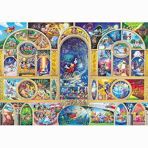 ぎゅっとサイズシリーズ 500ピース ディズニー オールキャラクター ドリーム DSG-500-410