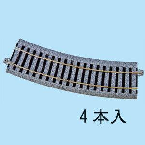 [鉄道模型]カトー KATO (HO) 2-280 HOユニトラック 曲線線路 R370-22.5゜(4本入) [カトー 2-280]【返品種別B】