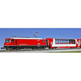 [鉄道模型]カトー 【再生産】(Nゲージ) 10-1145 アルプスの氷河特急 3両基本セット