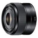 SEL35F18 ソニー E 35mm F1.8 OSS ※Eマウント用レンズ(APS-Cサイズミラーレス用)