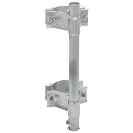 SKPM32 マスプロ マスト取付金具 住宅用鋼管引込小柱用 MASPRO