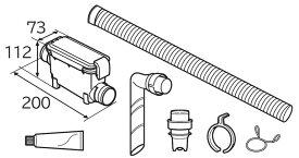 WLB-5 日立 糸くずボックス 風アイロン搭載機種用(内面フラットホース) HITACHI [WLB5]