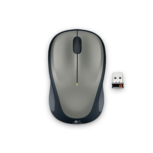 M235RSV ロジクール 2.4GHzワイヤレス 光学式マウス(シルバー) Logicool Wireless Mouse M235