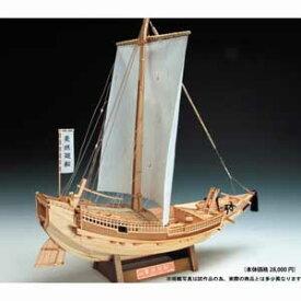 1/72 木製模型 菱垣廻船 木製組立キット ウッディジョー