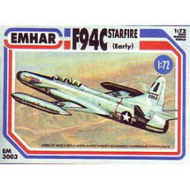1/72 米 F-94Cスターファイアー初期型ジェット迎撃機【EM72303】 プラモデル エマー
