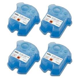 CCR4CR ブラウン アルコール洗浄システム専用洗浄液カートリッジ【4個入】 BRAUN クリーン&リニューシステム用 [CCR4CR]