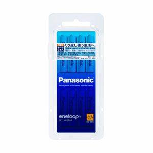 BK-4MCC/8 パナソニック ニッケル水素電池 単4形(8本入) Panasonic eneloop [BK4MCC8]【返品種別A】