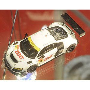 1/43 ZEST Audi R8 LMS ultra GT300 2013 No.21 Okayama Test レジンモデル【44948】 EBBRO [EB 44948 ZEST Audi R8 LMS ultra No.21]【返品種別B】