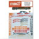 1/24 PORSCHE 911 GT3R DressUpデカール(フジミ対応)【ST27-DC868】 スタジオ27