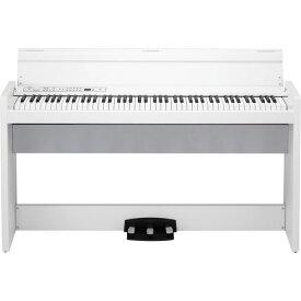 LP-380-WH コルグ 電子ピアノ (ホワイト)【専用スタンド&ヘッドホン付き】 KORG