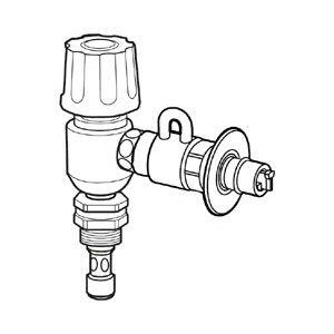 CB-ET7 ナニワ製作所 分岐水栓 [CBET7YZブヒン]【返品種別A】