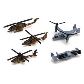 【再生産】1/700 ウォーターラインNo.556 艦載機 陸上自衛隊ヘリコプタ−セット【07273】 アオシマ