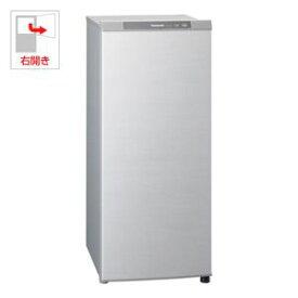 (標準設置料込)NR-FZ120B-S パナソニック 121L 冷凍庫(フリーザー) シャイニングシルバー Panasonic