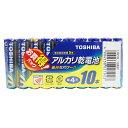LR03L10MP 東芝 アルカリ乾電池単4形 10本パック TOSHIBA
