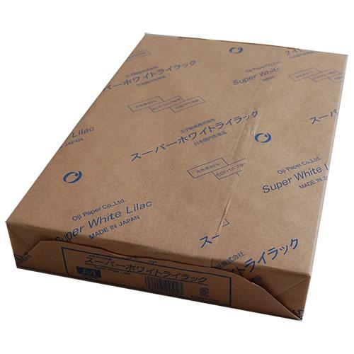 ス-パ-ホワイトライラツク-A4 王子製紙 コピー用紙 A4 500枚 [スパホワイトライラツクA4]【返品種別A】