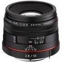 HD-DA35/マクロBK【税込】 ペンタックス HD PENTAX-DA 35mmF2.8 Macro Limited (ブラック) ※DAレンズ(デジタル専...
