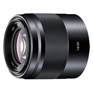 SEL50F18-B ソニー E 50mm F1.8 OSS ※Eマウント用レンズ(APS-Cサイズ用) [SEL50F18B]【返品種別A】
