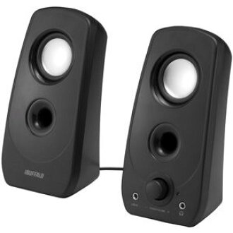 BSSP28UBK Buffalo USB powered speaker (black) iBUFFALO BSSP28U series