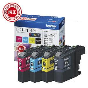 LC111-4PK ブラザー 純正インク(4色セット)