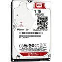 WD10JFCX【税込】 ウエスタンデジタル 【バルク品】2.5インチ 内蔵ハードディスク1.0TB(9.5mm厚) WesternDigital WD Red [WD10JFCX]【返品種別B】【送