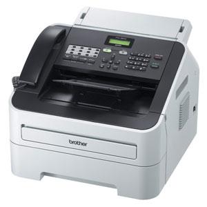 ジャスティオ FAX-2840 ブラザー A4プリント対応 レーザー付モノクロ複合機(受話器付) [FAX2840]【返品種別A】
