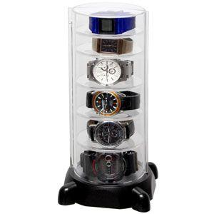 CTG-BK シンコハンガー スタック型時計コレクションケース コレクタワー・ウォッチスタック [CTGBKシンコハンガ]【返品種別A】