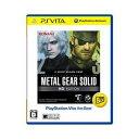 【PS Vita】METAL GEAR SOLID HD EDITION PlayStation(R)Vita the Best 【税込】 コナミデジタルエンタ...