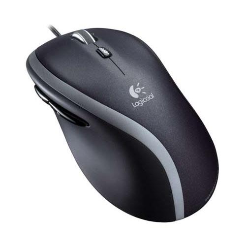 M500t ロジクール レーザーマウス(ブラック) Logicool Corded Mouse m500t [M500T]【返品種別A】
