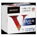 20DMR12MLPS ソニー 16倍速対応DVD-R 20枚パック 4.7GB ホワイトプリンタブル SONY [20DMR12MLPS]【返品種別A】