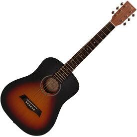 YM-02/VS S.Yairi(ヤイリ) ミニアコースティックギター(ヴィンテージサンバースト) Compact-Acoustic シリーズ