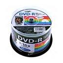 HDDR47JNP50【税込】 HI-DISC データ用 16倍速対応DVD-R 50枚パック 4.7GB ホワイトプリンタブル ハイディスク [HDD…