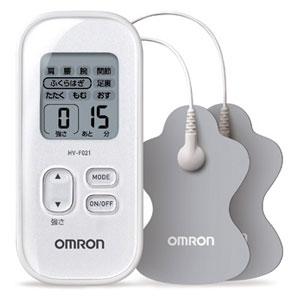 HV-F021-WH オムロン 低周波治療器(ホワイト) OMRON [HVF021WH]【返品種別A】