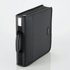 CCD-SS160BK エレコム CD/DVDファスナーケース 160枚収納(ブラック)