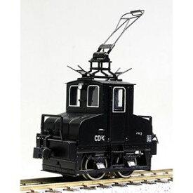 [鉄道模型]ワールド工芸 【再生産】(HO)16番 銚子電鉄デキ 3 電気機関車 黒色仕様II 塗装済完成品 リニューアル品 【特別企画品】