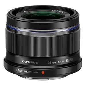 25MMF1.8(ブラック) オリンパス M.ZUIKO DIGITAL 25mm F1.8(ブラック) ※マイクロフォーサーズ用レンズ