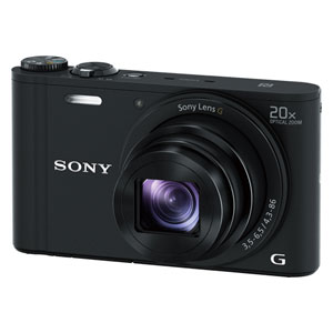 DSC-WX350-B ソニー デジタルカメラ「Cyber-shot WX350」(ブラック) [DSCWX350B]【返品種別A】