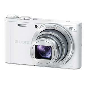 DSC-WX350-W ソニー デジタルカメラ「Cyber-shot WX350」(ホワイト) [DSCWX350W]【返品種別A】
